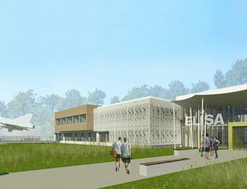 Construction du nouveau campus ELISA Aerospace Bordeaux