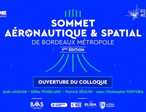 Le Sommet Aéronautique et Spatial de Bordeaux Métropole